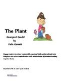 The Plant emergent reader