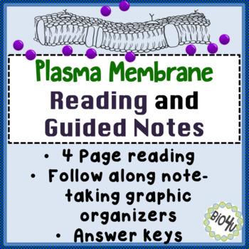 The Plasma Membrane, Passive and Active Transport Reading and Guided Notes