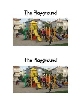 The Playground Emergent Reader