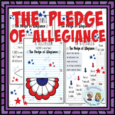 The Pledge of Allegiance * A Booklet to Create, Read, Write, Listen & Recite