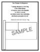The Pledge of Allegiance Activities Packet - Just Print and Go!