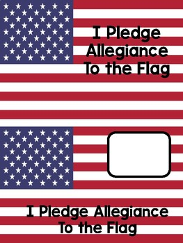 The Pledge of Allegiance Adapted Book