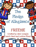 The Pledge of Allegiance FREEBIE
