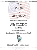 SOCIAL STUDIES: The Pledge of Allegiance Book for Kids