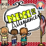 The Pledge of Allegiance {K-2} for At Home Learning