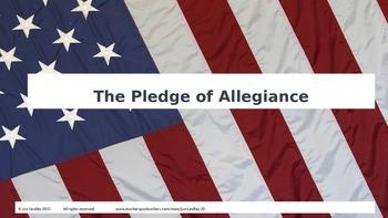 The Pledge of Allegiance Power Point