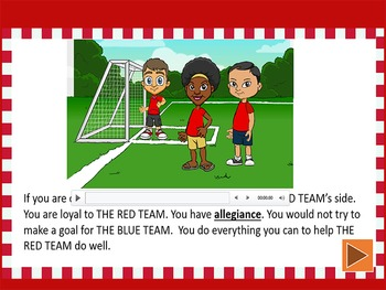 The Pledge of Allegiance - PowerPoint and Booklet
