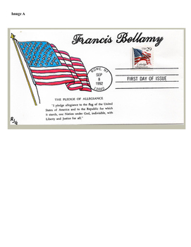 The Pledge of Allegiance Using First Day Covers