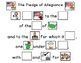 The Pledge of Allegiance in Pictures  Activities with picture supports