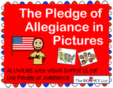The Pledge of Allegiance in Pictures Activities with SymbolStix