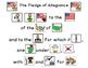 The Pledge of Allegiance in Pictures Activities with SymbolStix