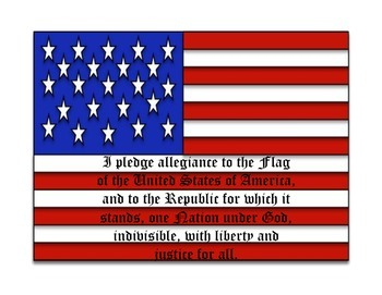 The Pledge of Allegiance of the United States