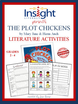 The Plot Chickens by Mary Jane and Herm Auch Literature Activities