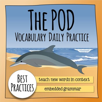 The Pod Vocabulary and Grammar Extension - HMH Collections