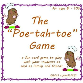 The Poe-tah-toe Game (open-ended card game)