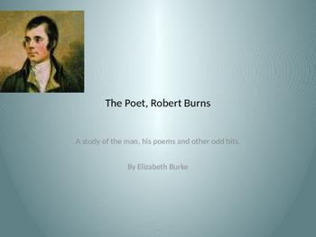 The Poet, Robert Burns