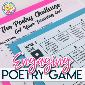 The Poetry Challenge: Engaging Game for Any Poem (Grades 6-12)