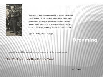 The Poetry Of Walter de la Mare