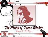 Poetry of Tupac Shakur Unit Study