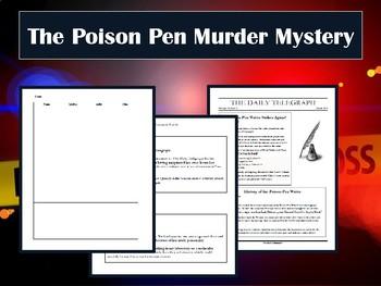 The Poison Pen Murder Mystery