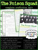 The Poison Squad: Full Nonfiction Reading Unit: Printable
