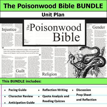 The Poisonwood Bible Unit Bundle