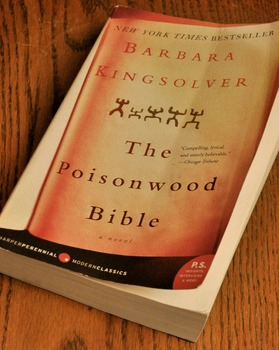 The Poisonwood Bible by Barbara Kingslover, Shipping Included