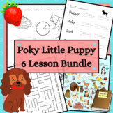 The Poky Little Puppy Bundle 5 Senses Comprehension and Vo