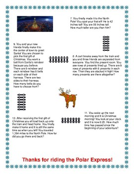 The Polar Express Problem Solving