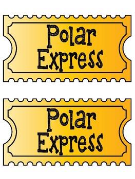 The Polar Express Drama Center & ELA Activities