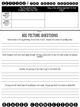The Polar Express: A Literature Study Flip Book!