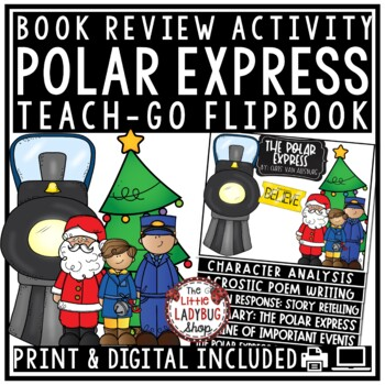 The Polar Express Activities: Christmas Reading Activity Book Review Template