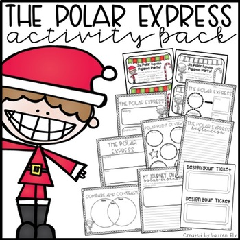 the polar express activities teaching resources teachers pay teachers rh teacherspayteachers com polar express clipart free polar express ticket clipart