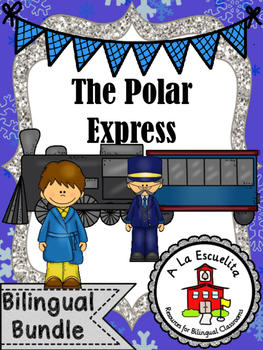 The Train to the North Pole Bilingual Bundle