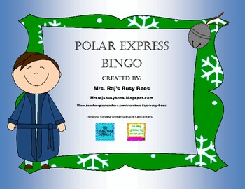 The Polar Express Bingo!