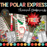 The Polar Express Bookmarks | Christmas Bookmarks