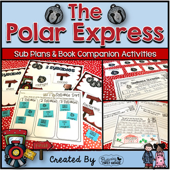 The Polar Express ~ Book Activities for the Common Core Classroom
