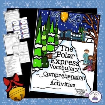 The Polar Express Christmas ELA Unit for Big Kids