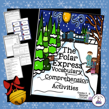 The Polar Express Christmas ELA Unit for Big Kids