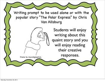 The North Pole Express, Christmas Writing Prompt
