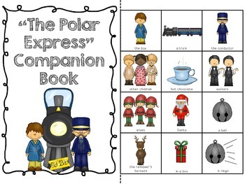 """The  Polar Express"" Companion Pack:  A Story  Retelling Guide"