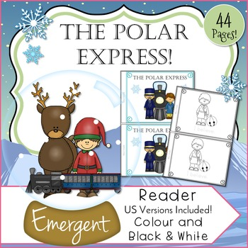 The Polar Express Inspired Emergent Reader