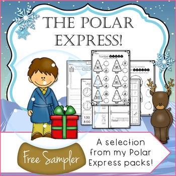 The Polar Express Inspired Free Sampler