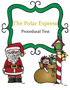 The Polar Express Reading Procedural Text: How to Make Hot