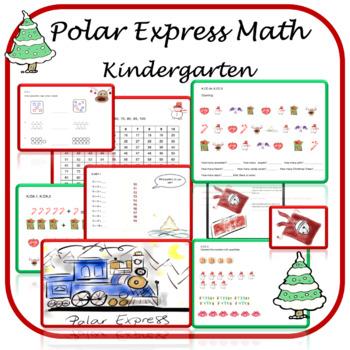 Polar Express - Kindergarten Math