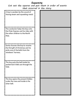 The Polar Express Language Literacy Activity Packet