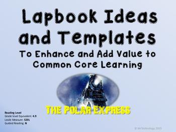 The Polar Express Lapbook Ideas & Templates