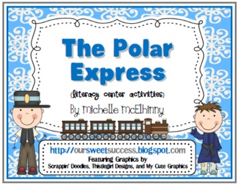 The Polar Express {Literacy Center Activities}