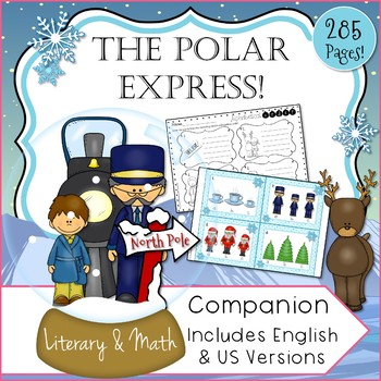 The Polar Express Inspired Literary and Math Book Companion