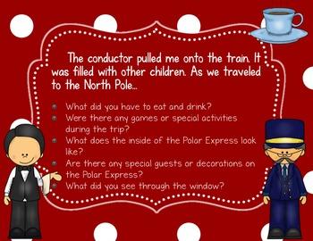 The Polar Express Literature-Based Writing Activity